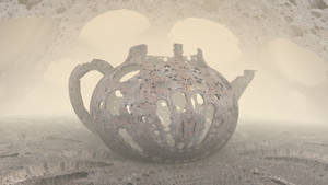 Antique Teapot by hypex2772
