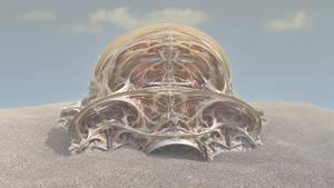 Fractale dans le sable