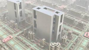 Non-Conformal Quadratic Transformation City