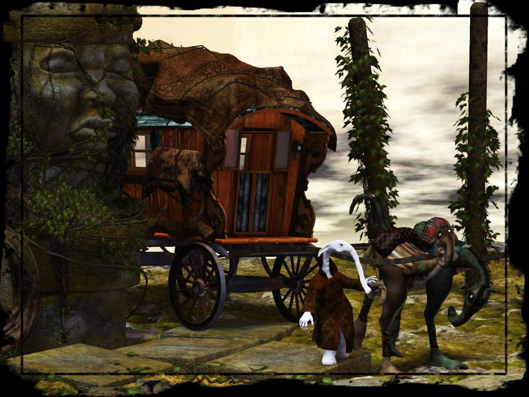 The Wayfar Caravan by Wayii