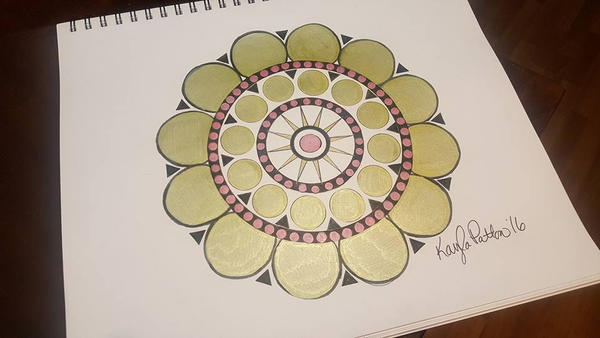 Golden Circles by ApocalypseKitty