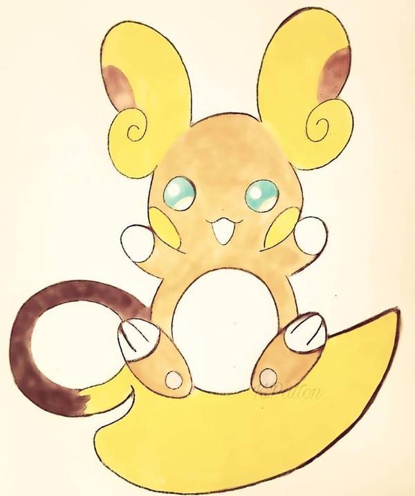 how to draw pokemon raichu