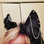 Dark Kitsune Ears