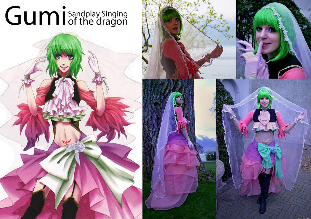 Gumi Sandplay Singing of the dragon by Kadirine
