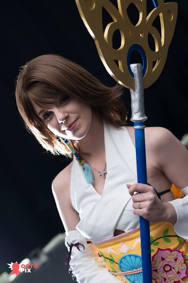 Yuna Final Fantasy X by Kadirine