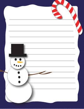 Snowman Stationary