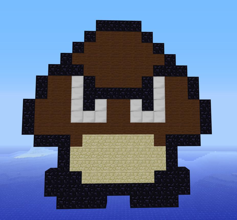 Super Mario Pixel Art Minecraft