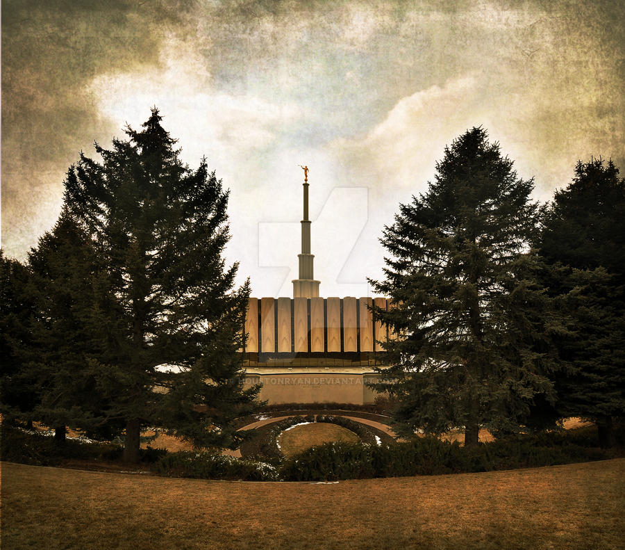 Provo Temple LDS East Side by houstonryan