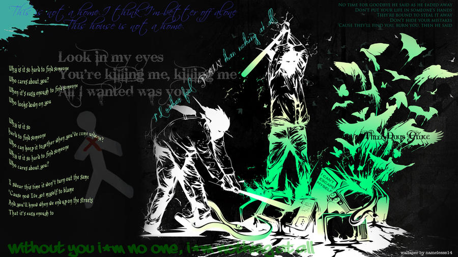 Three days grace wallpaper by nameless14 on deviantart - Three days grace wallpaper ...