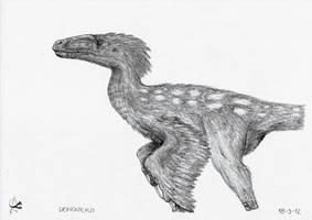 Deinonychus antirrhopus by Xezansaur