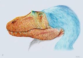 Fierce lizard... Or not? by Xezansaur