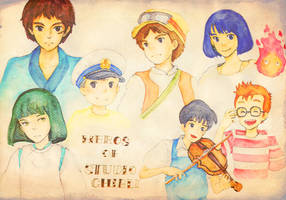 Heros of Studio Ghibli? by Fujimaki12