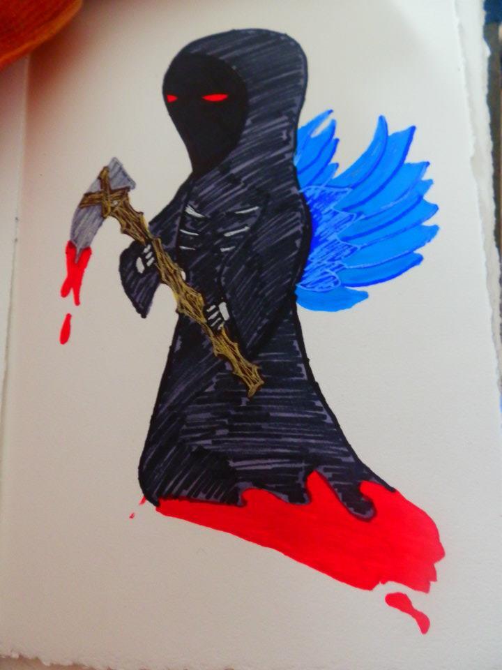 grim reaper by Chyliethecrazy1