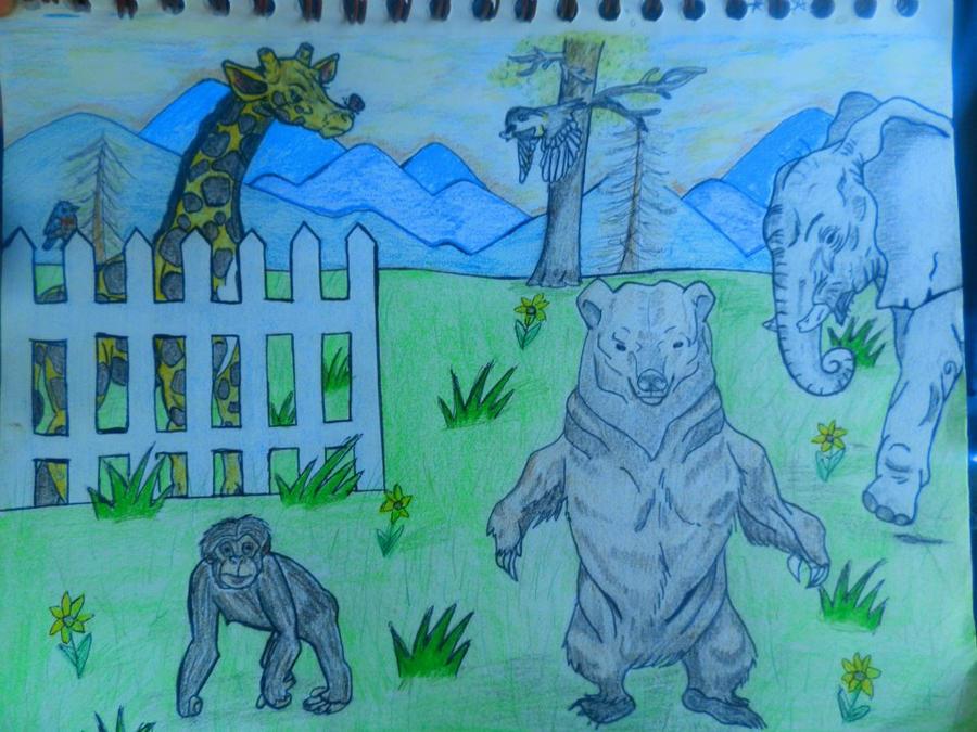 animals by Chyliethecrazy1