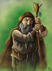 Tribal Shaman by JonayMartin
