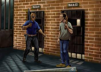 The Prisoner by JonayMartin