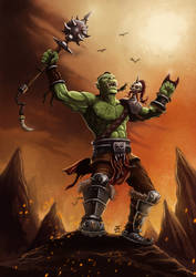 Warrior Orc