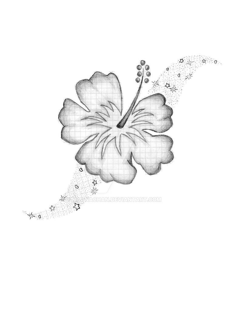 tattoo hibiskus by maynachan on deviantart. Black Bedroom Furniture Sets. Home Design Ideas