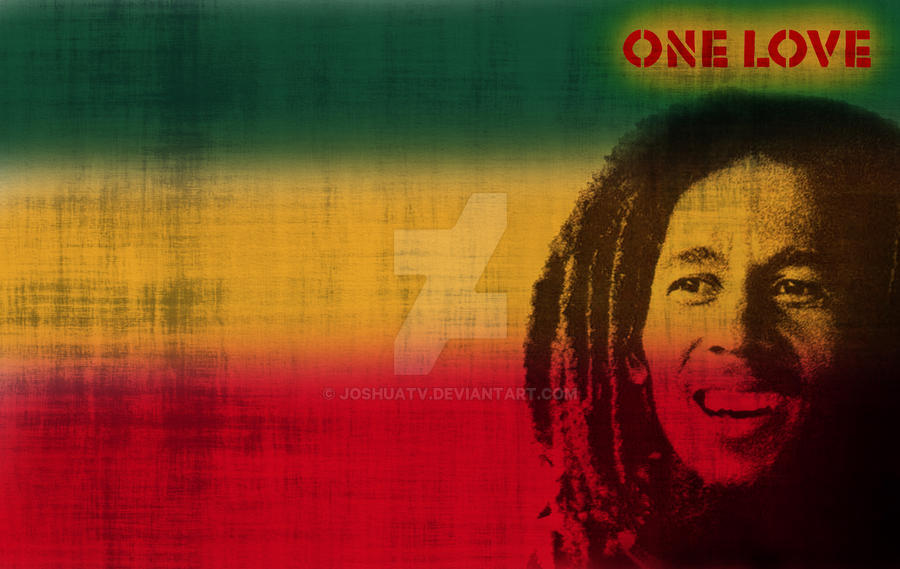 Bob Marley One Love Wallpaper By Joshuatv On Deviantart