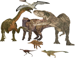 Walking with Dinosaurs - Giant Claw by DinosaurManZT2