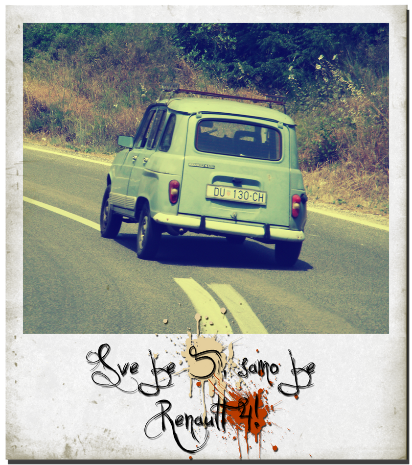 Vintage Renault 4 by ~roopi on deviantART