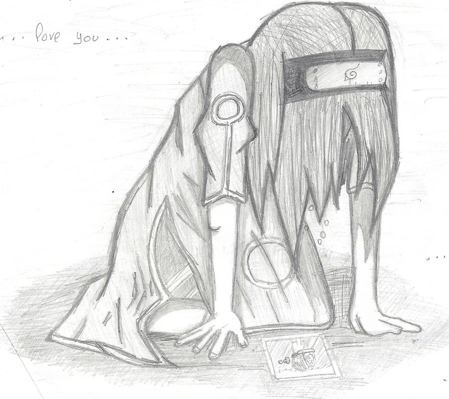 This is a photo of Candid Drawing Of Someone Crying