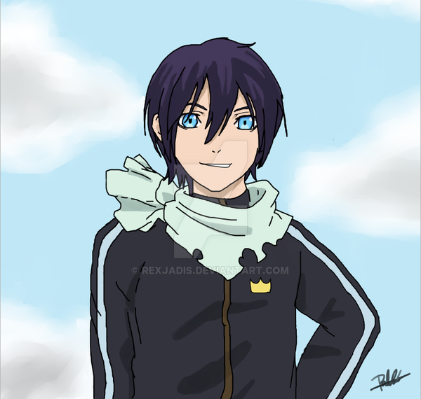 Yato(Noragami) by rexjadis on DeviantArt