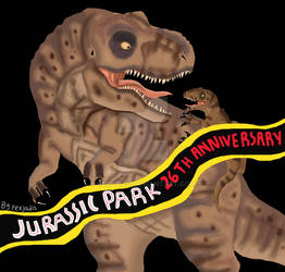 Happy  Anniversary 26th Jurassic Park