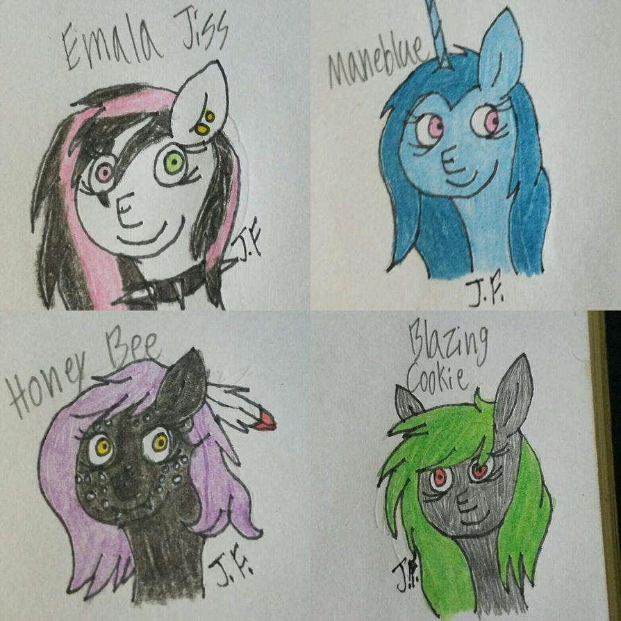 (Fanart)-Fave Speedpainters by WaterPony256