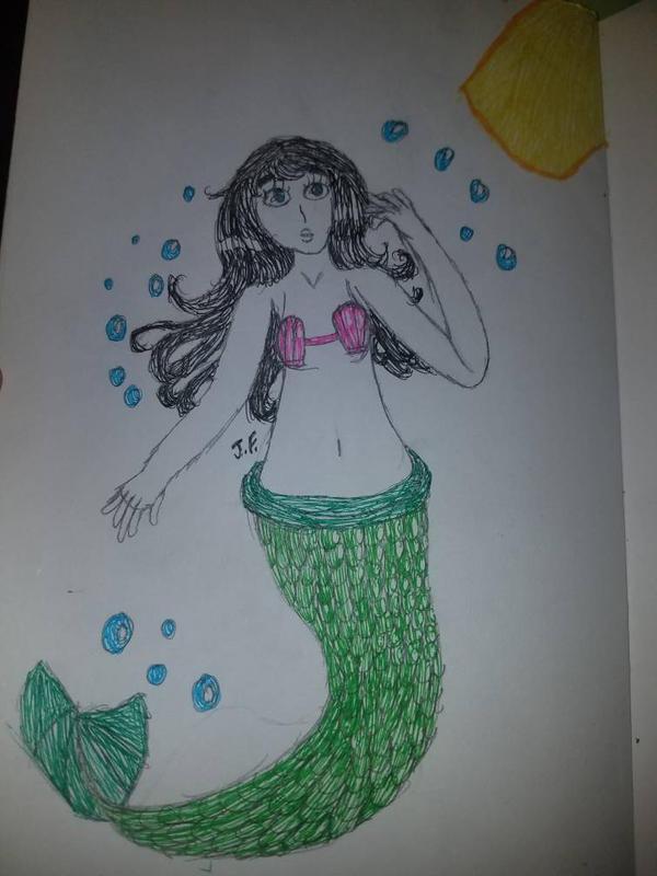 Wondering Mermaid by WaterPony256