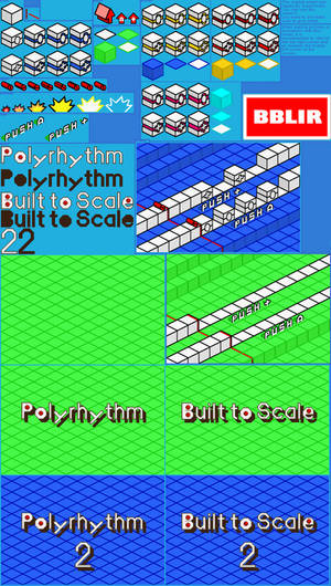Rhythm tengoku: Polyrhythm/Built to Scale