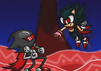 Sonic Chrono adventure fanart RE-DO by BBLIR