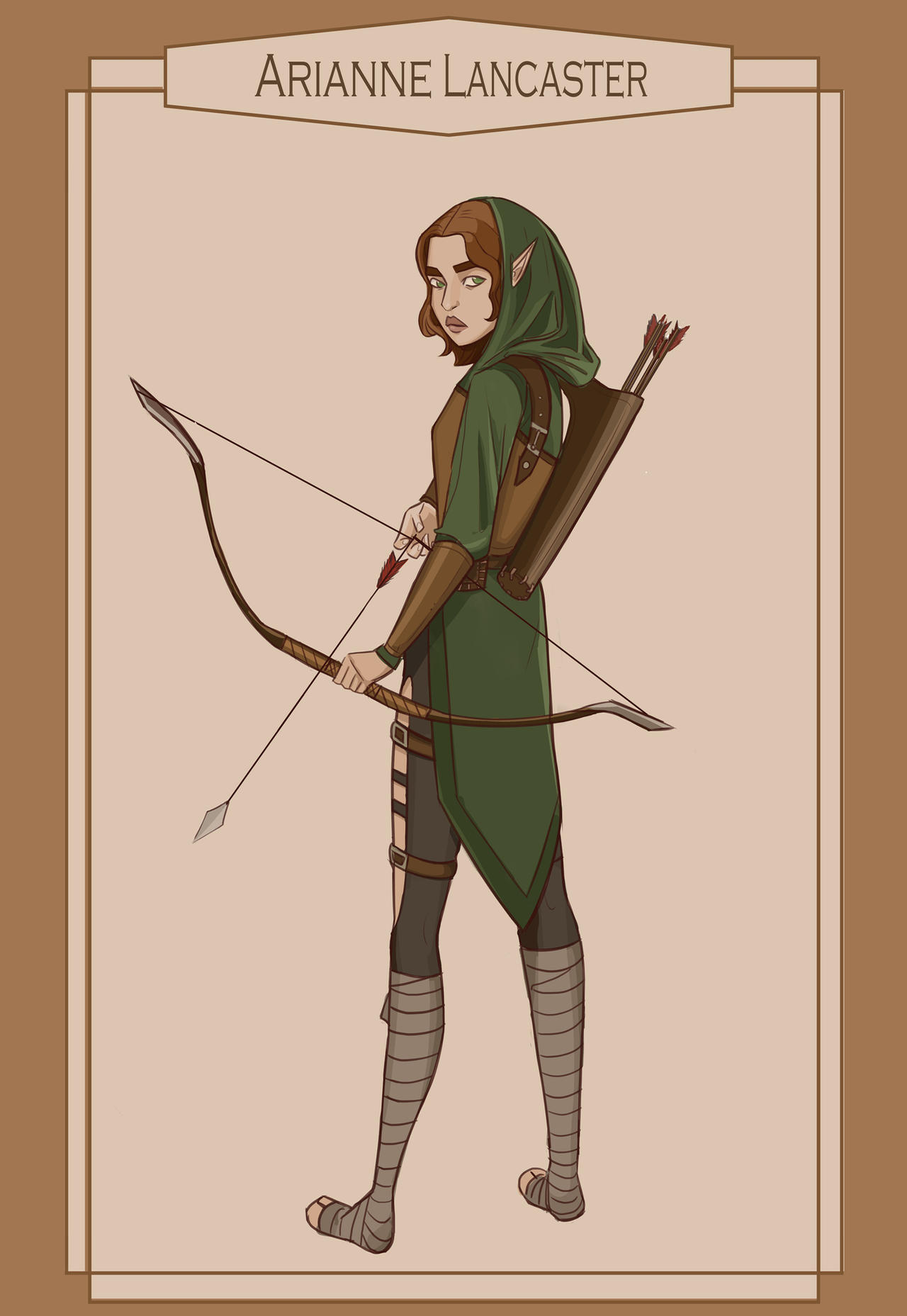 My Dnd Archer Finished