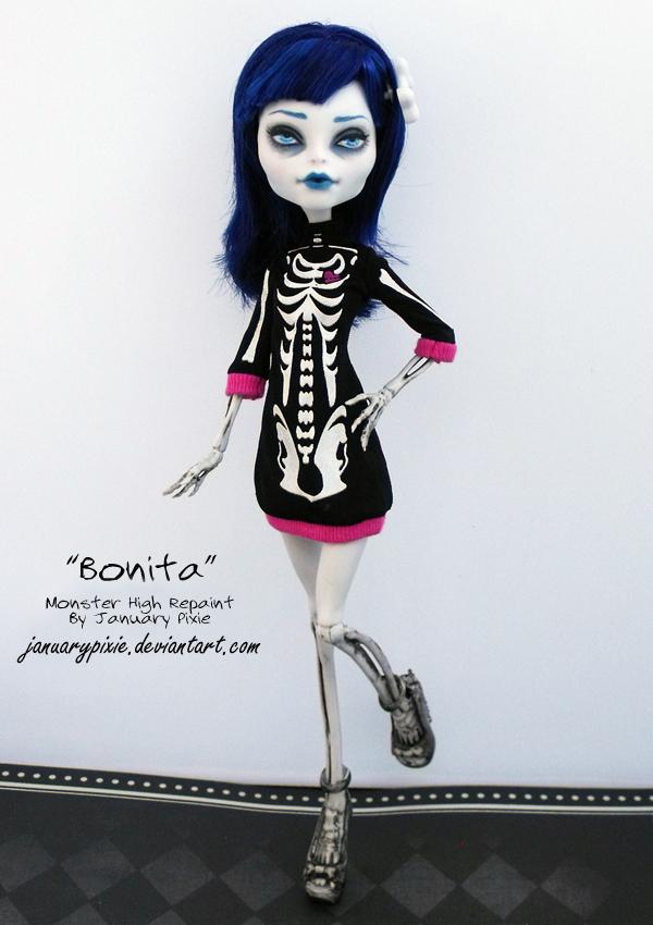 Bonita monster high repaint by pixiepaints on deviantart - Monster high bonita ...