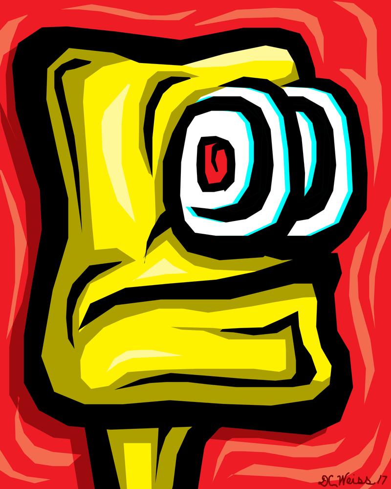 GoldBot by daveweissamericanpop