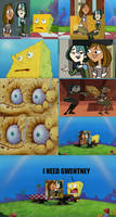 Spongebob Needs Gwentney by kTd1993