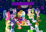 MLP EqG New Year with kTd1993 by kTd1993