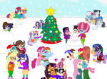 Happy EqG MLP Holidays from kTd1993 by kTd1993