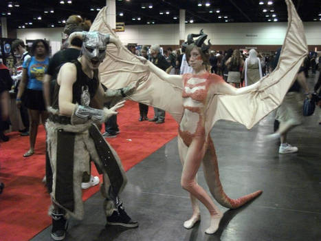 - Dragon Costume with Dovahkiin -