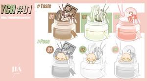 YCH#01 sweets batch [12\15slots]OPEN by JIAJIANJIA