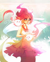 17 Elemental mermaid by Rurushich
