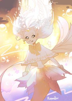 Magic girl mermaid