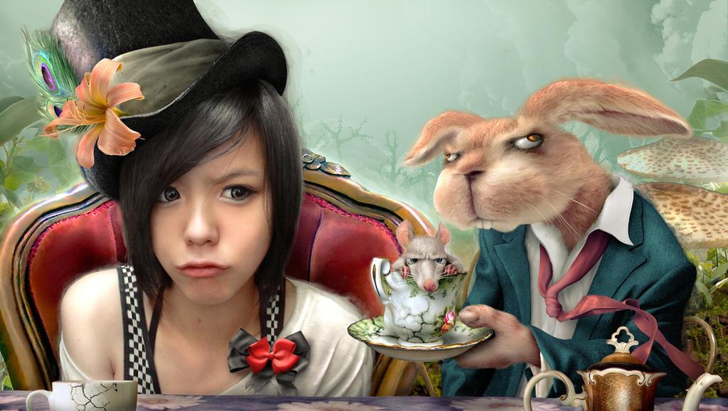 Bad Tea party by bobvhan