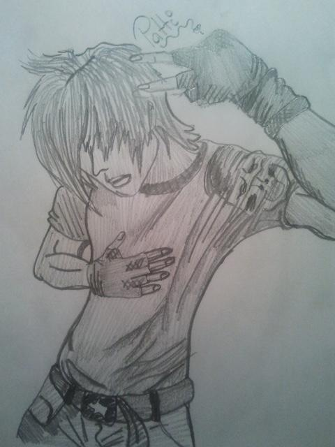 My emo boy drawing d by theepicpatti