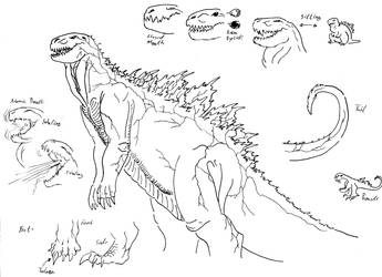 Reydor's Godzilla by Reydorer