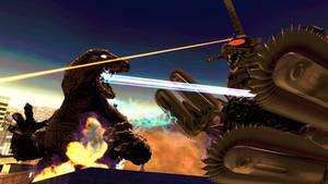 Godzilla v.s Gigan (re-release)