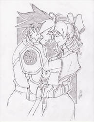 Request   Thressa and Hiro by gaqs001