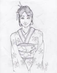 Japanese Kimono by gaqs001