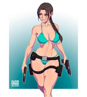 Lara Croft - Tomb Raider - Swimsuitober - Day 3