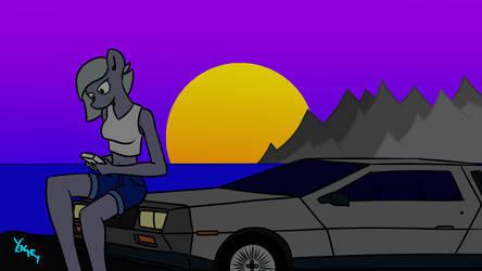Limestone on DeLorean